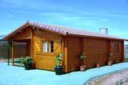 Log house ARLANZON